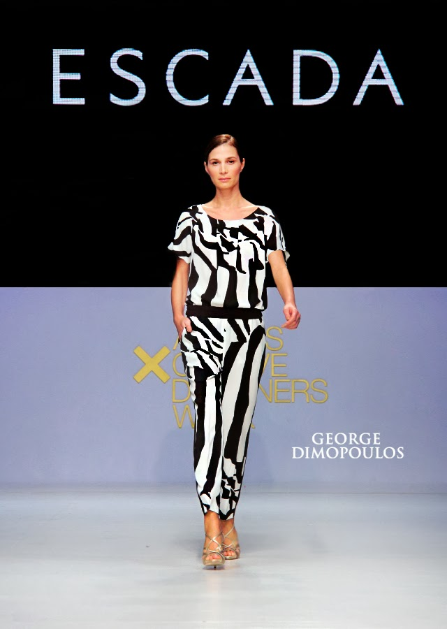 ESCADA Haute Couture by GEORGE DIMOPOULOS Photography at the AXDW Fashion Week