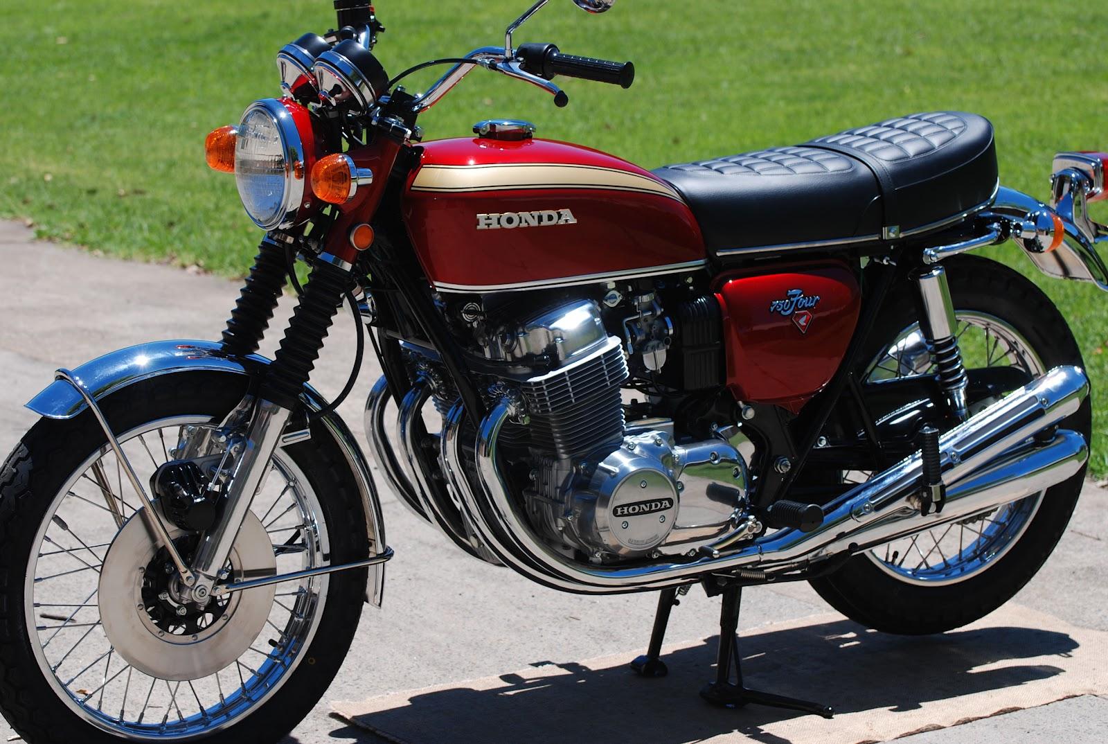 Classic Honda Motorbike Classic Motorbike