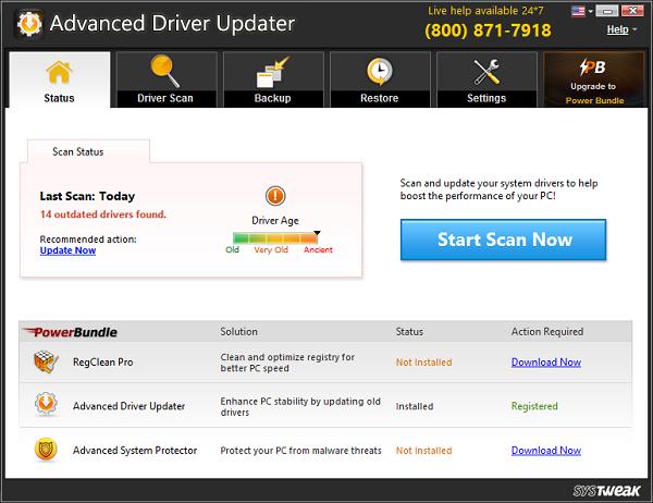 Advanced Driver Updater تعريفات 2014,2015 p.png