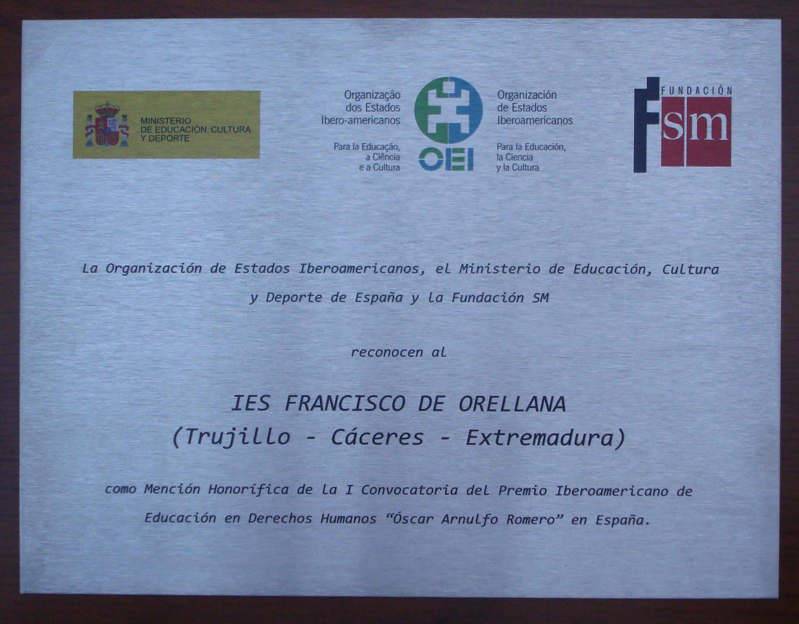Premio Oscar Arnulfo Romero
