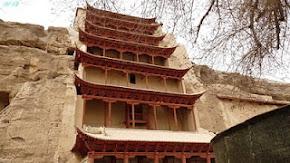 丝绸之路~甘肃,敦煌~莫高窟 (UNESCO World Heritage)