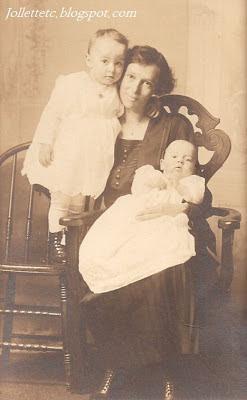 Pearl Sullivan Strole, Maxine Strole, Grayson Strole in Shenandoah, Virginia