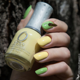 Orly Green Apple + Lemonade