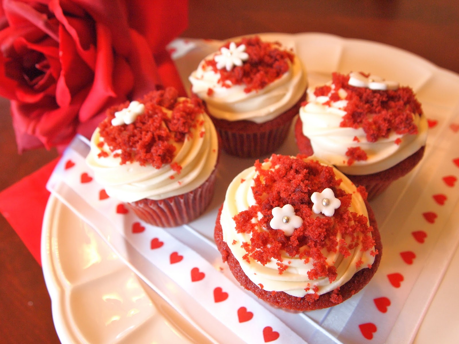 Super Moist Red Velvet Cupcake Recipe
