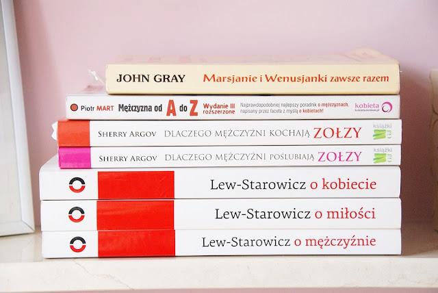 Książki dotyczące relacji damsko-męskich - przegląd