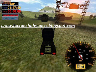 Big rigs over the road racing game