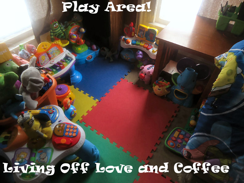 How To Make A Play Area In Your Living Room