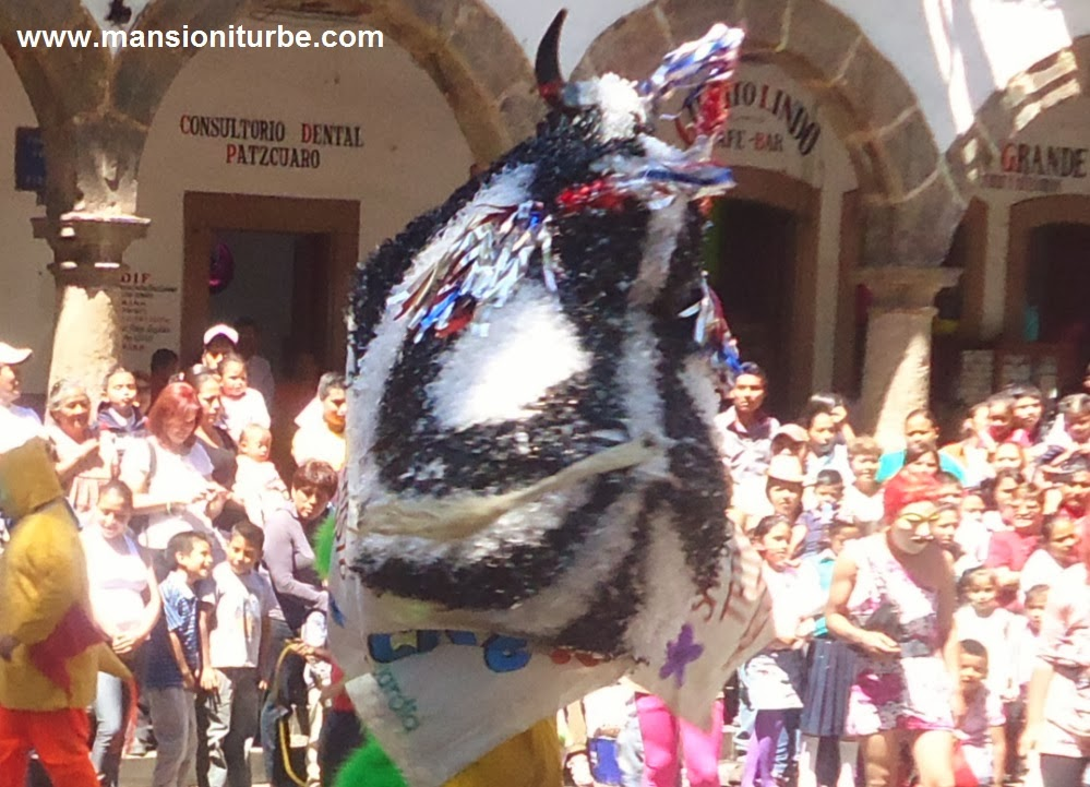 Toritos de Carnaval en Patzcuaro
