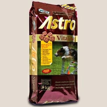 Ração Astro Vitality