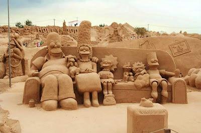 Simpsons de Areia