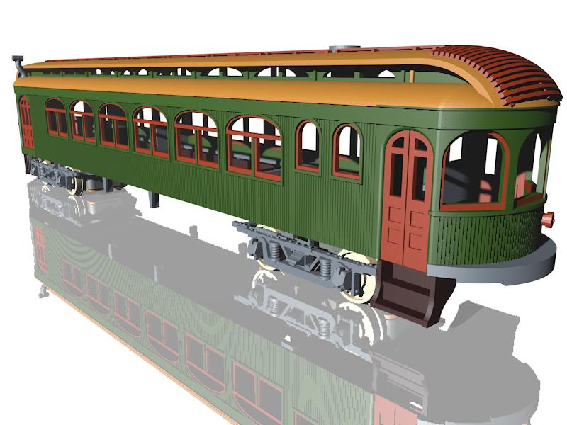 Interurban Railways Winona Windsplitter Nearly Completed