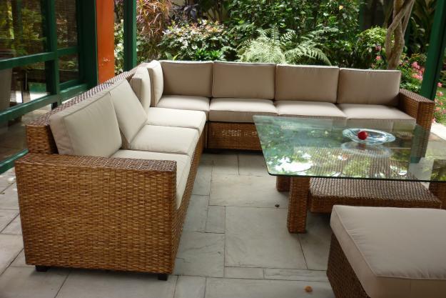 Muebles de rattan y mimbre terrazas peru for Muebles de jardin de ratan