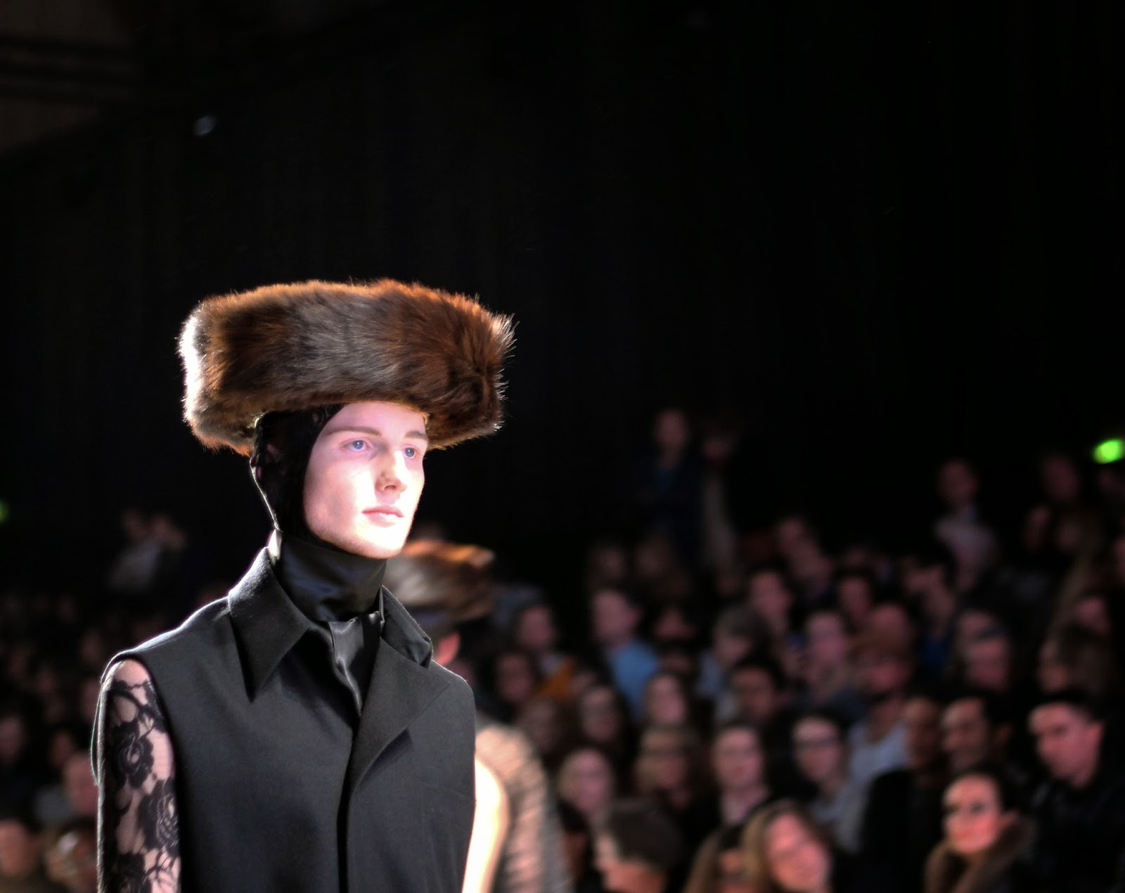 mercedes benz fashion week amsterdam 2014 aziz bekkaoui