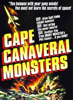 Vintage horror films the cape canaveral monsters 1960