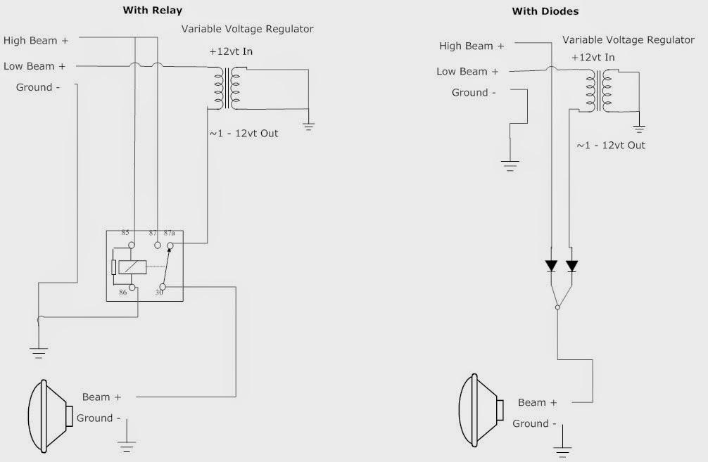 Uap Ac Wire Diagram For Headlight Bulb - Dolgular.com