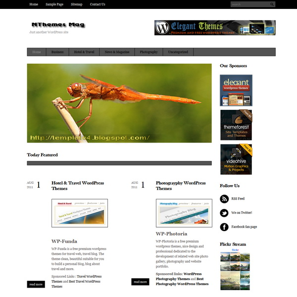 WP-NThemes Mag WordPress Theme