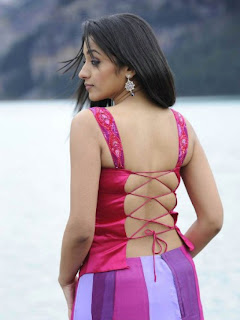 Sexy Trisha sizzling hot back pose.The bareback is just sensual!!