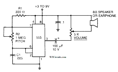 Mosquito Repellent Circuit Diagram