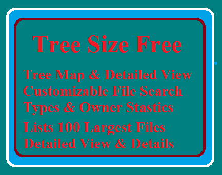 TreeSize Free-A good disk space management tool, download free