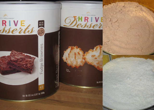 Thrive Foods Macaroon Brownies