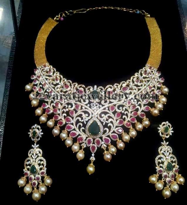 Lavish Diamond Bridal Choker