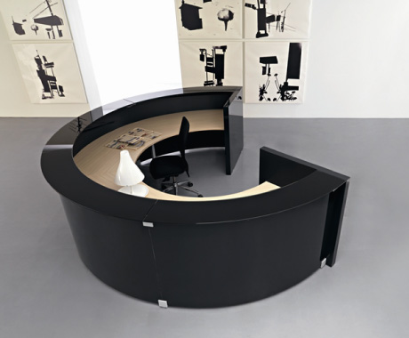A a a bancone di design arscity for Bancone reception ufficio