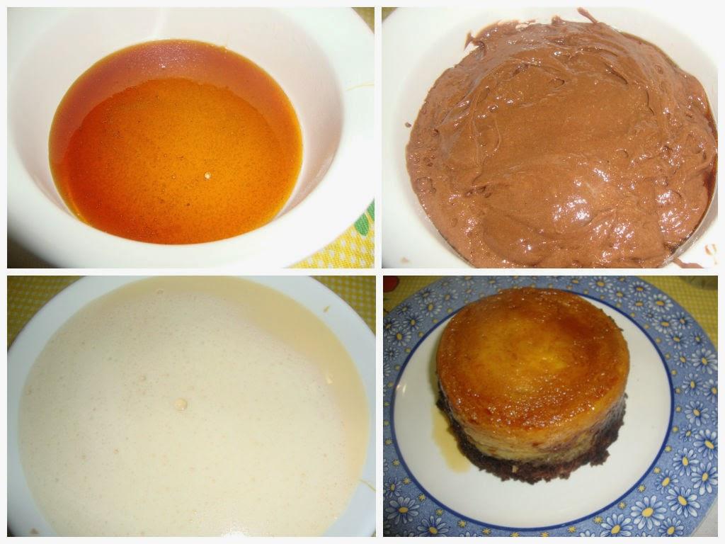 pastel imposible microondas