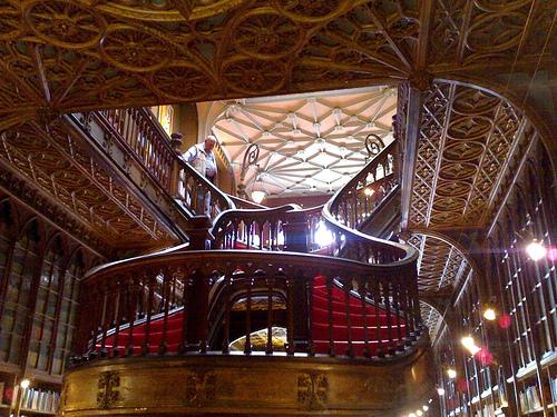 Najlepše biblioteke na svetu Livraria-Lello