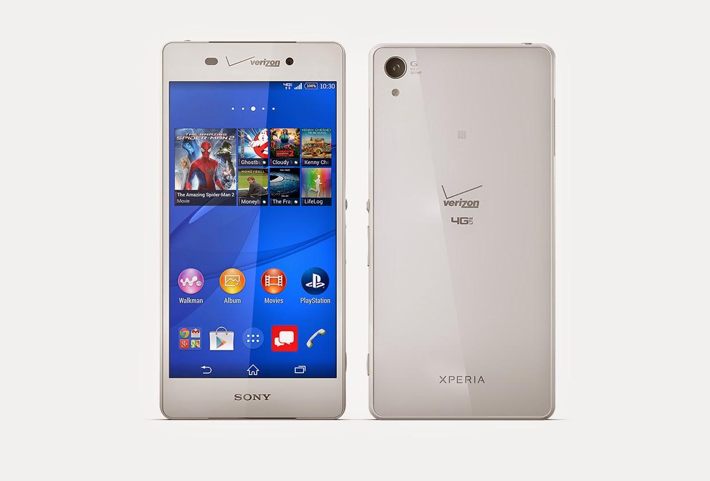 Sony Xperia Z3v Terbaru smartphone terbaru dari sony
