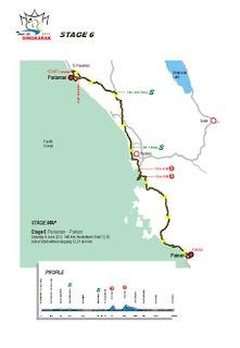 etape 6 tour de singkarak 2012