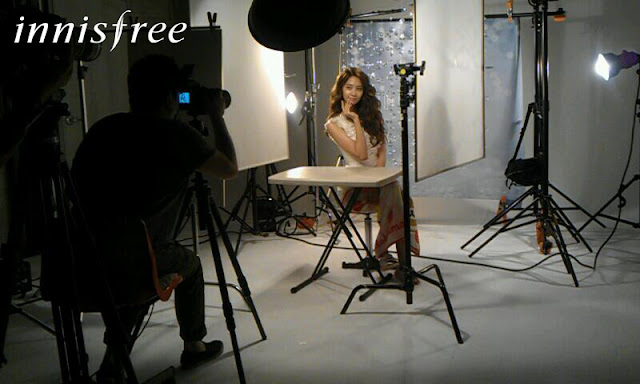 "SNSD Yoona ""INNISFREE"" Behind The Photoshoot"