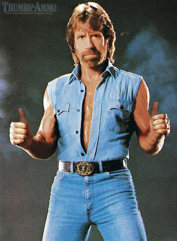 Thumbs and Ammo - Chuck Norris