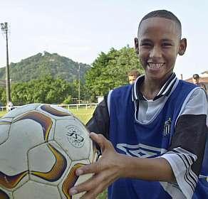 La Historia de Neymar, la joya que mas brilla en Brasil