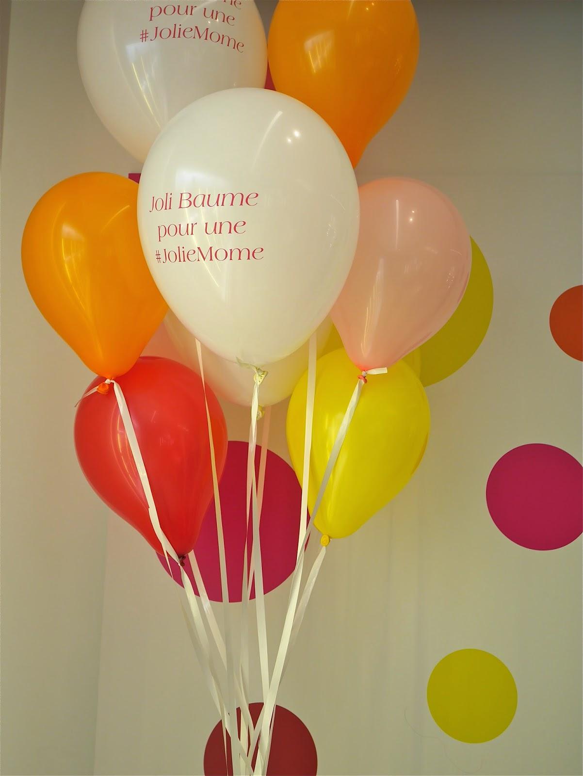 balon, event, soirée clarins, blog
