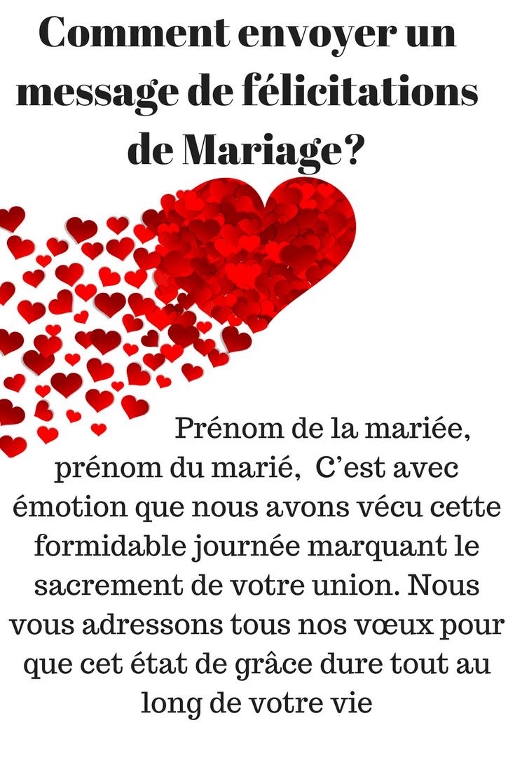 33 Exemples De Texte Original De Felicitations De Mariage 2018 Sms