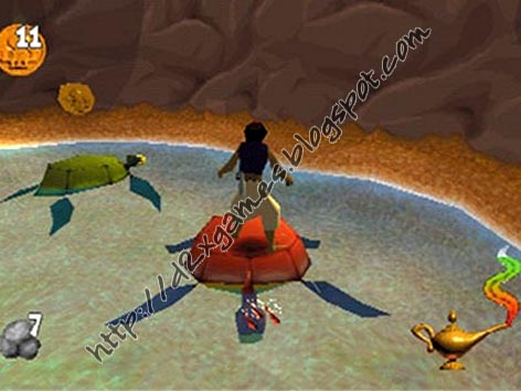 Free Download Games - Aladdin In Nasiras Revenge