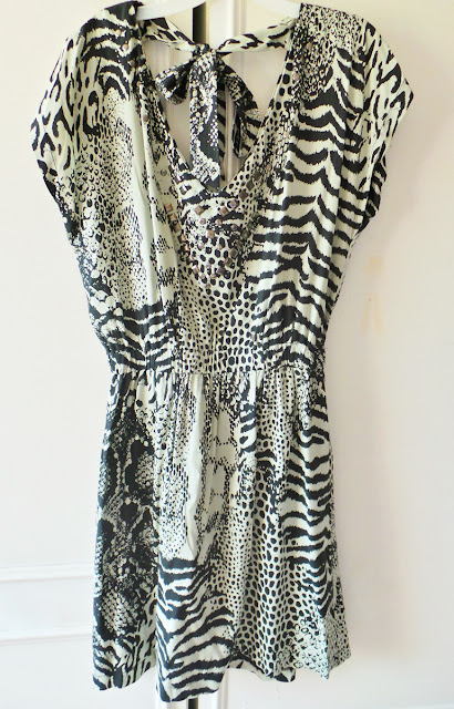 Haul - Thrifty Charity Shop Weekend Fashion Buys Leopard Tunic Matalan