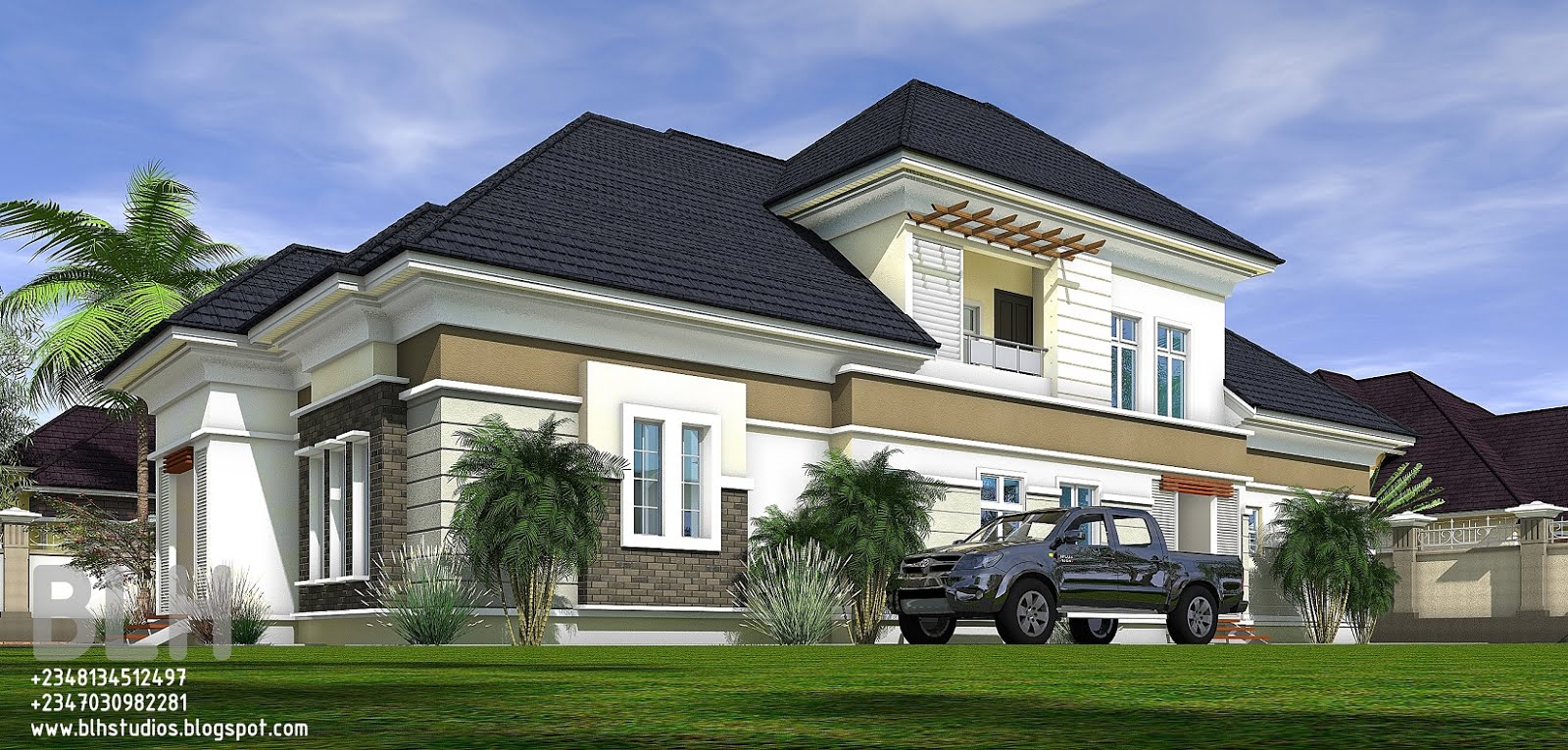 Architectural designs by blacklakehouse 3 bedroom for 3 bedroom architectural designs