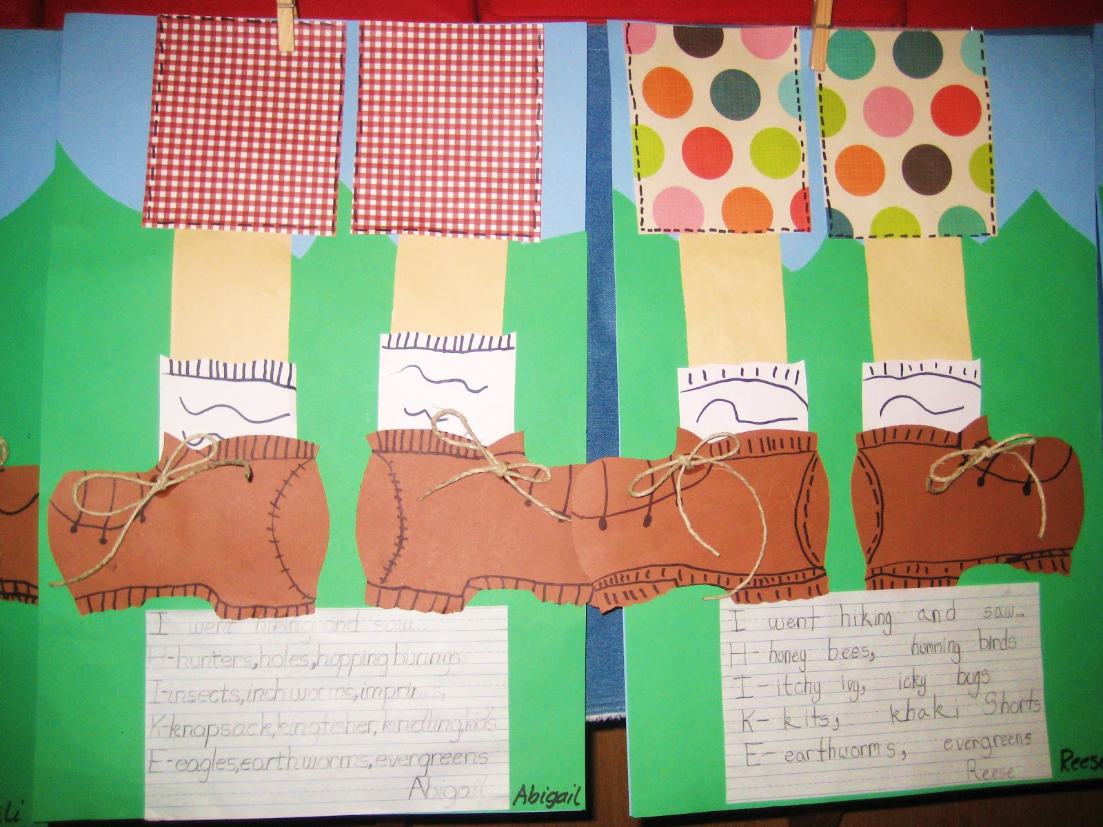 Hiking Themed Crafts