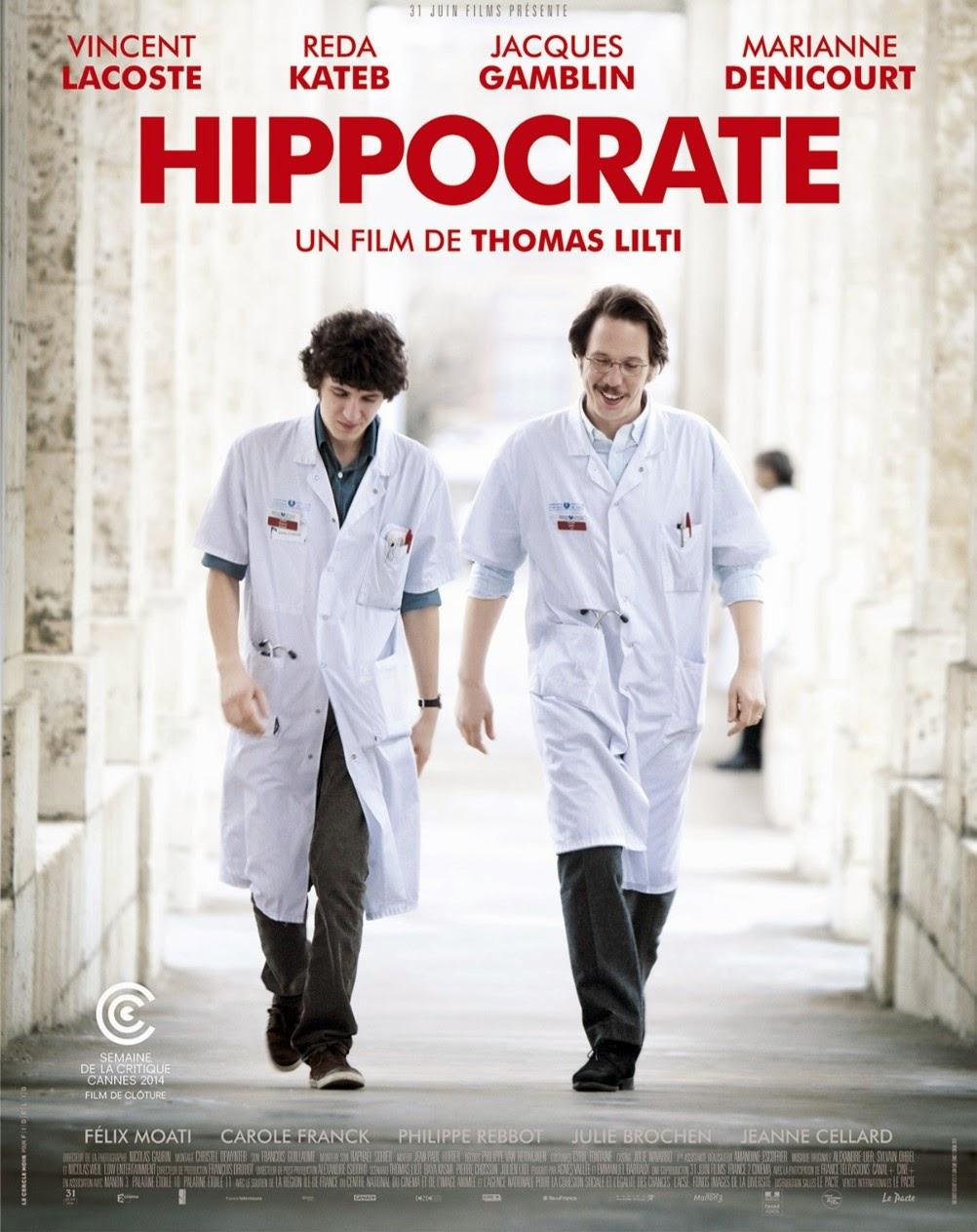 cinema français Hippocrate Thomas Lilti critique hopital Reda Kateb Vincent Lacoste, Le Pacte distributeur film Hippocrate Thomas Lilti