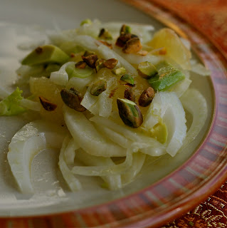 Fennel Salad with Grapefruit, Avocado & Pistachios