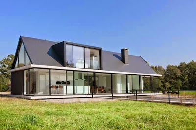 Modern Minimalist Design Home Roof