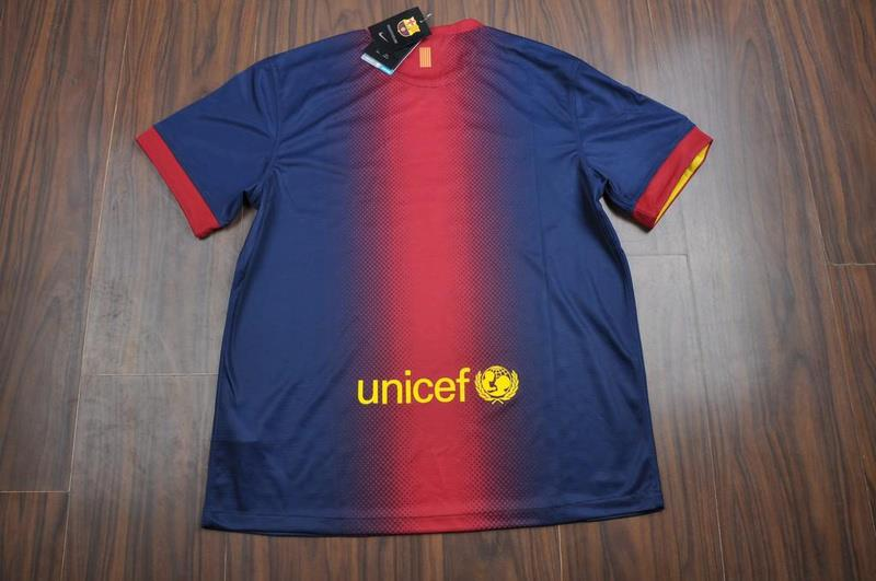 jersey barcelona home 2013 dari belakang