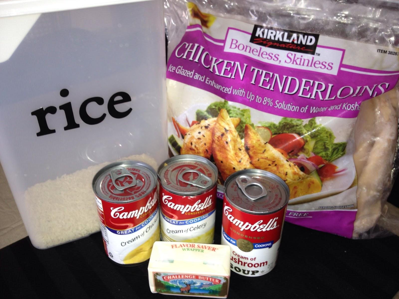 Easy frozen chicken tenderloin recipes