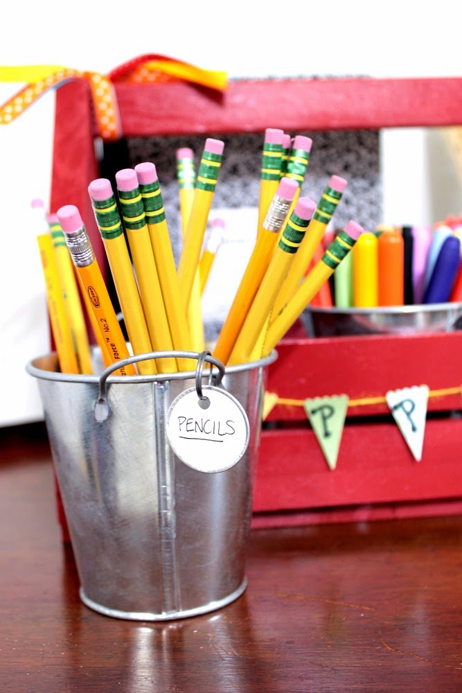 Homework station ideas | Cupcake Wishes & Birthay Dreams www.cwbdparties.com