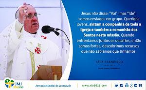 Palavras do Papa Francisco