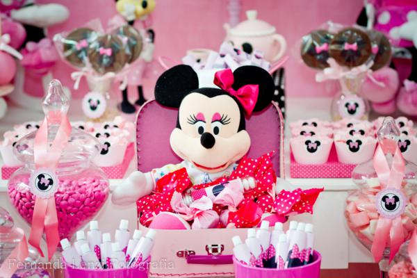 Fiesta infantil decoración Minnie
