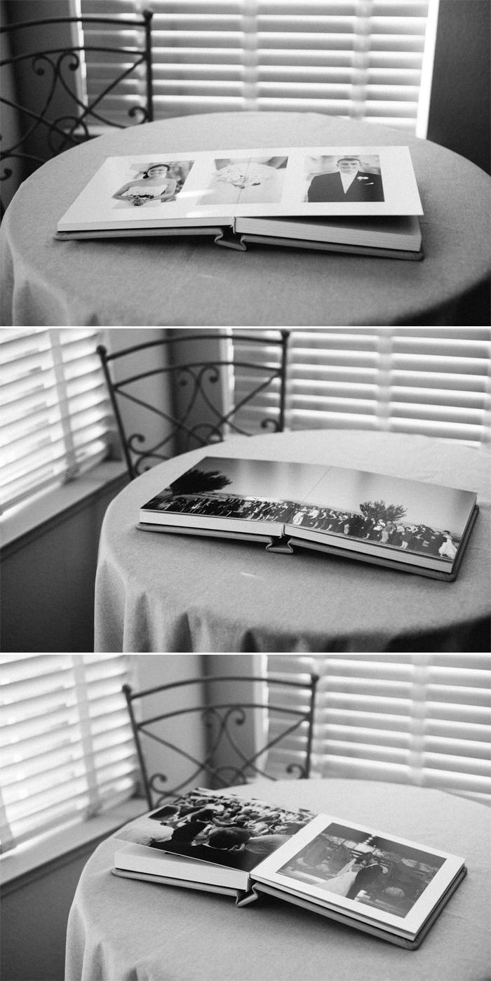 Annie Hall Photography wedding album