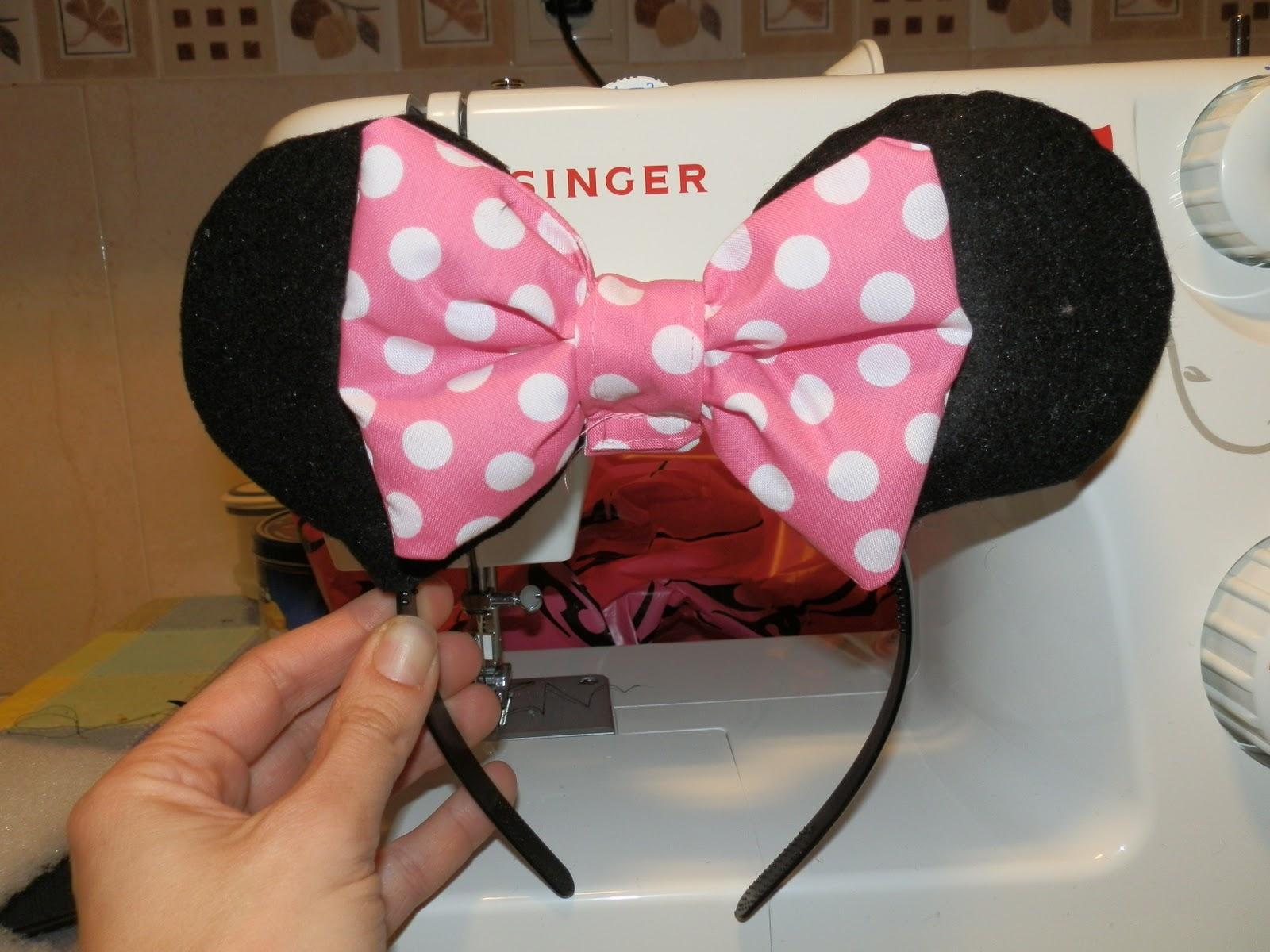 Orejas de Minnie Mouse