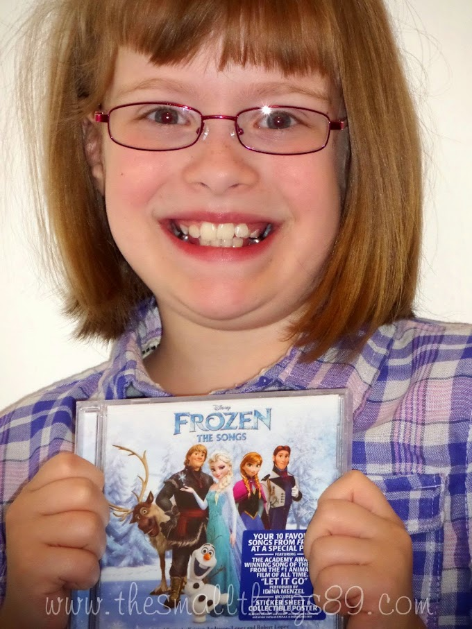 Frozen: The Songs on CD {#Review} {#Giveaway} #GiftGuide2014